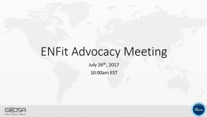 ENFit Adovcacy Meeting Presentation